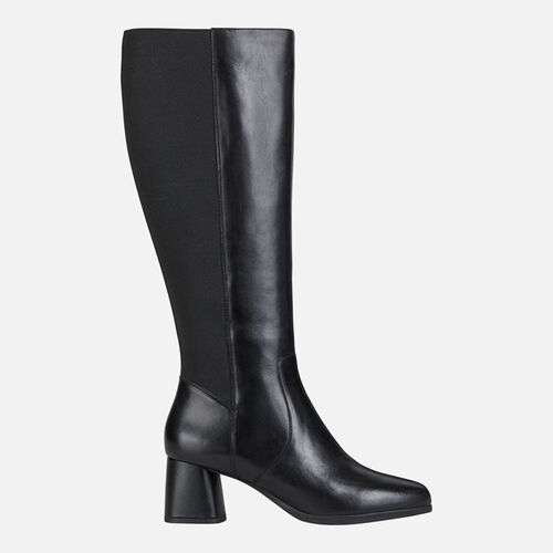 BOOTS WOMAN GEOX CALINDA MID WOMAN - null