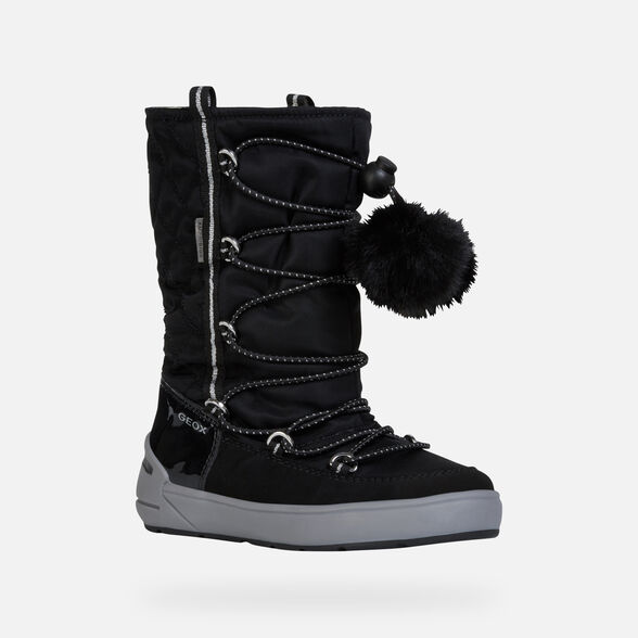 GIRL ANKLE BOOTS GEOX SLEIGH ABX GIRL - 3