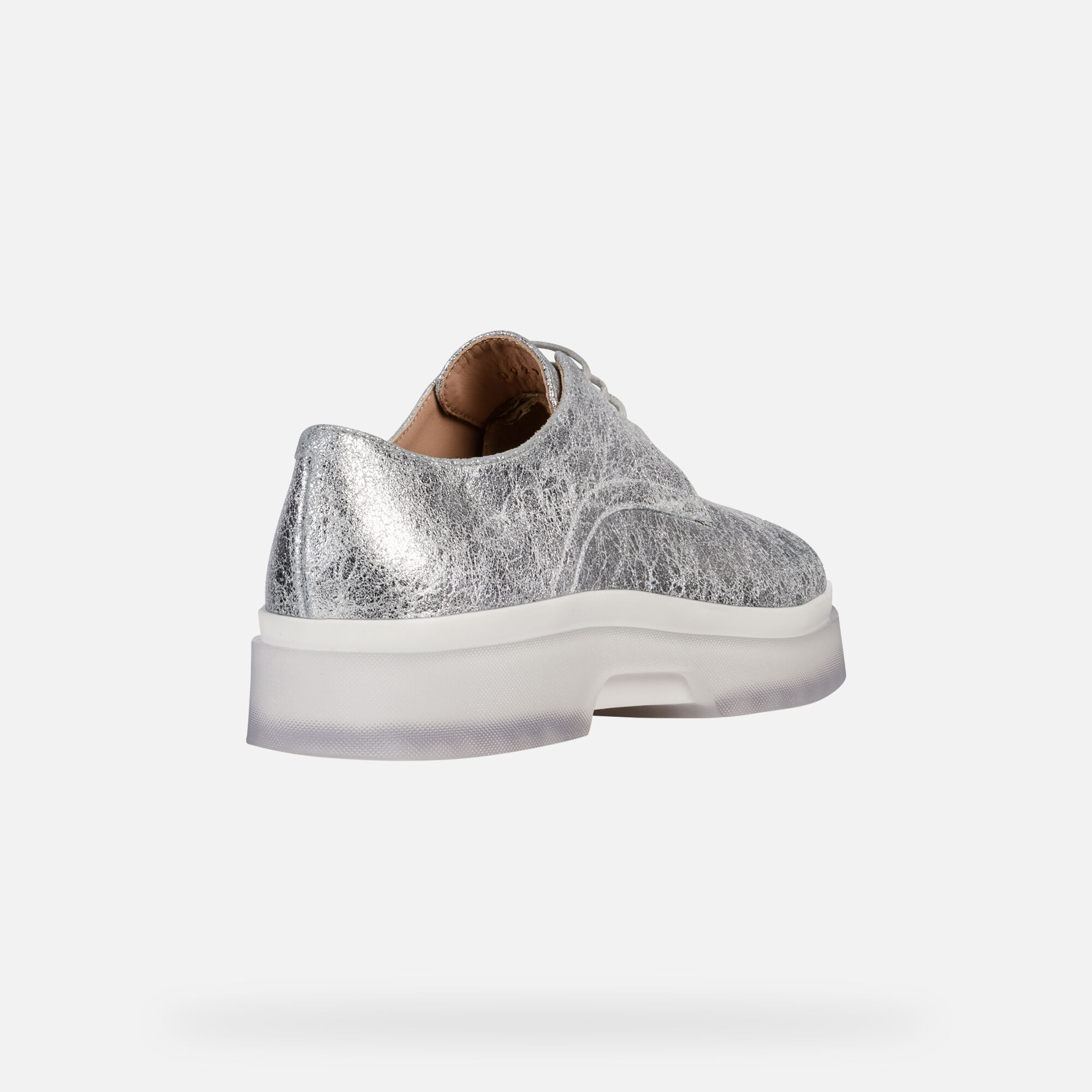Geox D MYLUSE: Silver Woman Shoes | Geox SS19