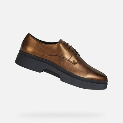 LACE UPS AND BROGUES WOMAN GEOX MYLUSE WOMAN