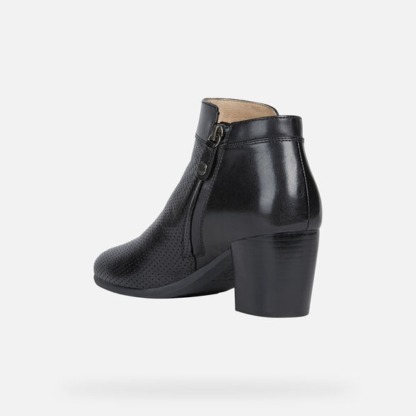 WOMAN ANKLE BOOTS GEOX NEW LUCINDA WOMAN - 4