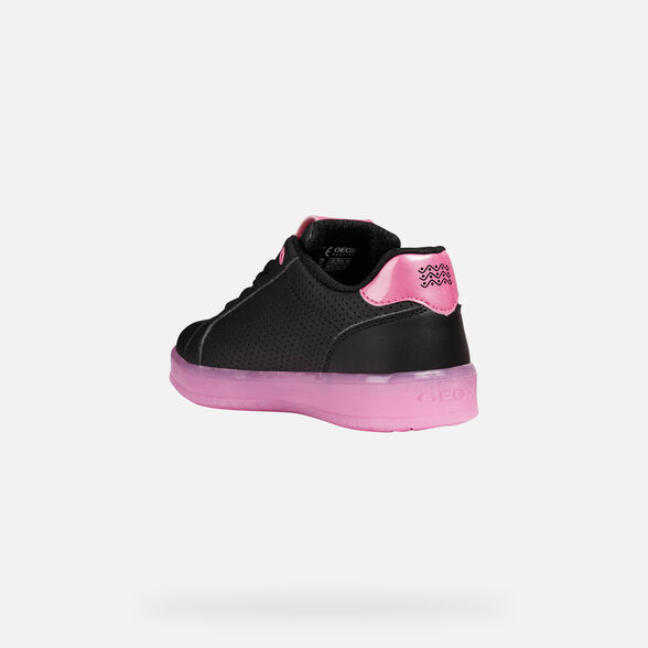CHAUSSURES LED FILLE GEOX KOMMODOR FILLE - 5