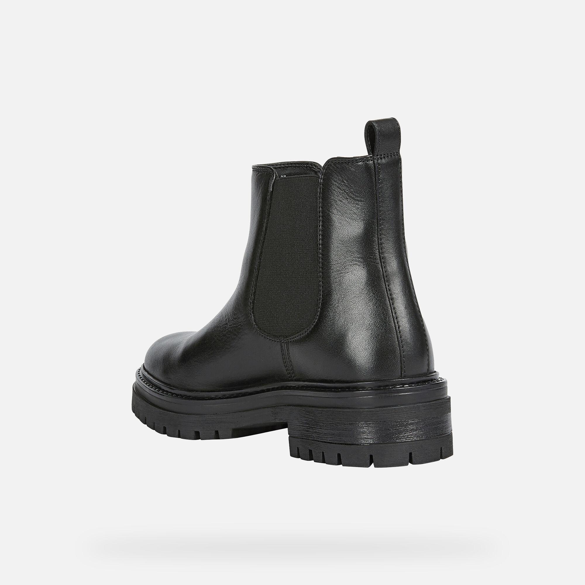 Geox IRIDEA Woman: Black Ankle Boots