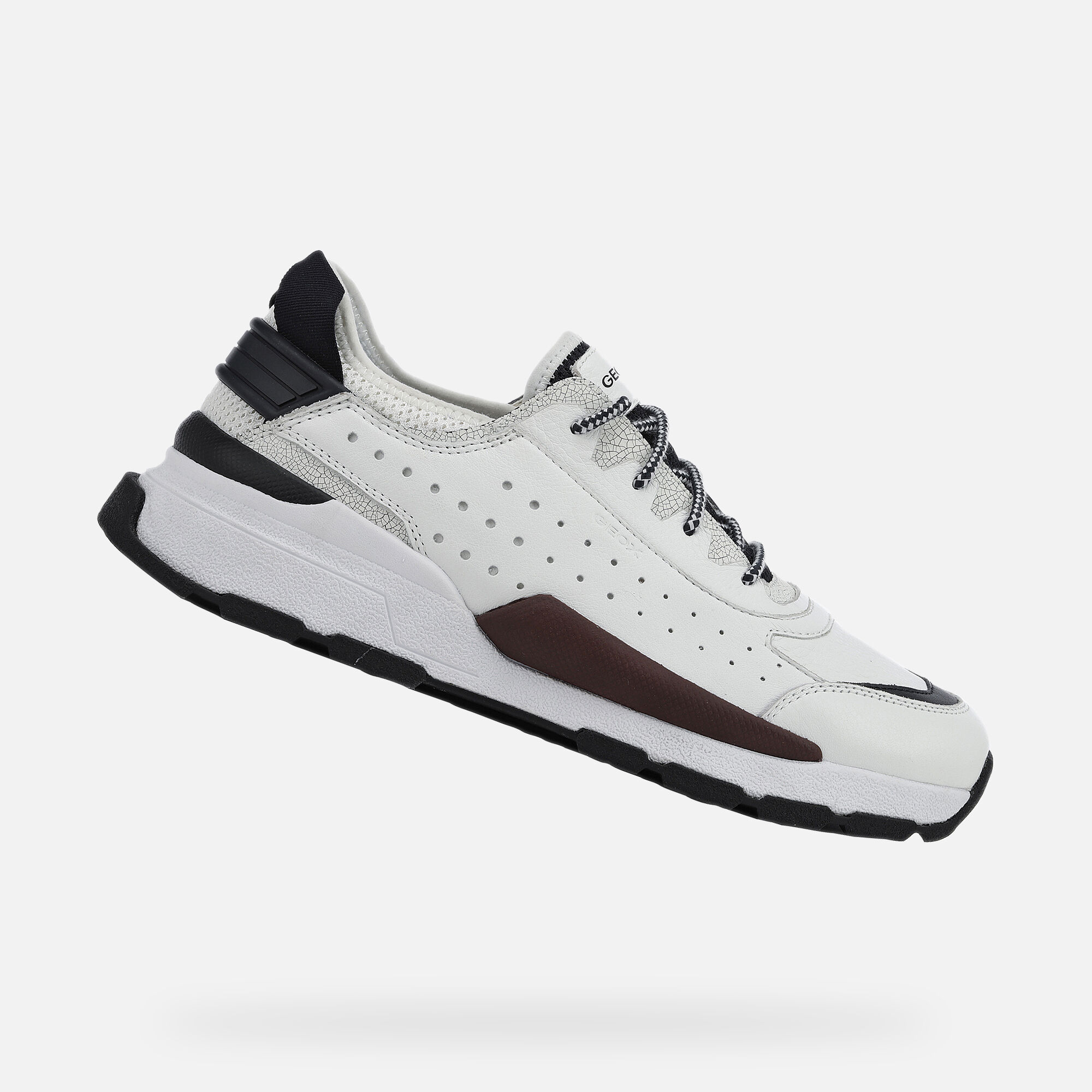 Geox REGALE Man: White Sneakers | Geox