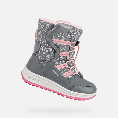 ANKLE BOOTS GIRL GEOX ROBY GIRL - null