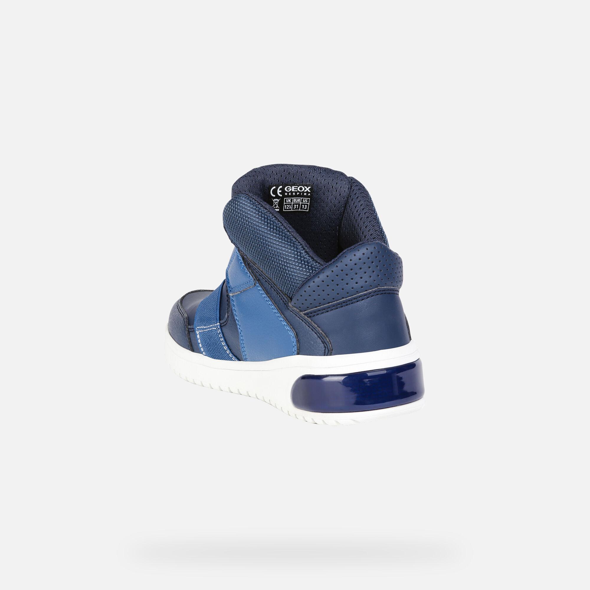 Geox Xled Sneakers alte blu marine   BrandAlley