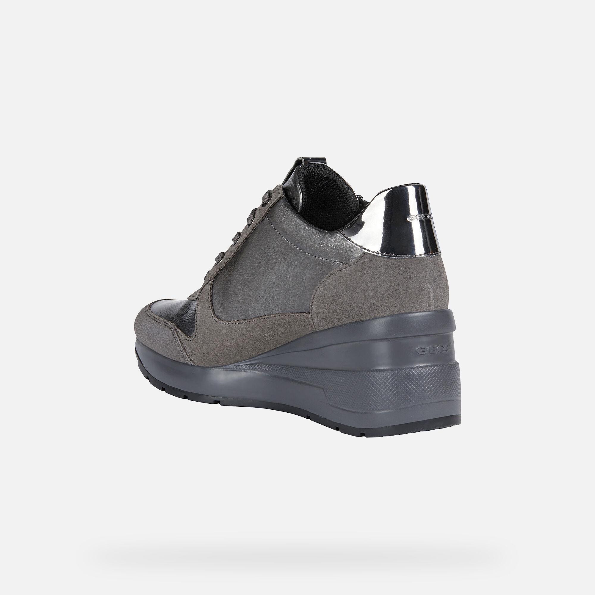 Geox ZOSMA Woman: Grey Sneakers | Geox