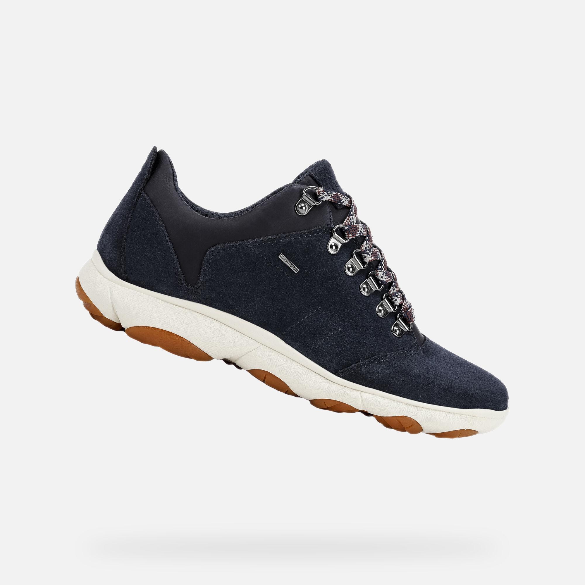 Geox NEBULA 4 X 4 B ABX Woman: Blue Sneakers | Geox FW1920