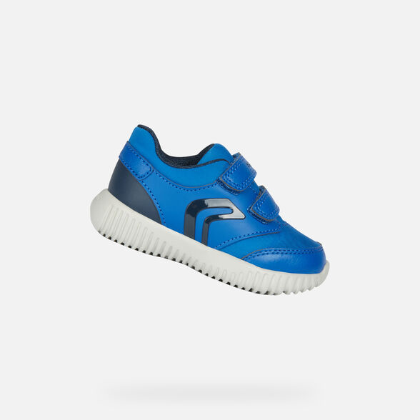 LOW TOP BABY GEOX WAVINESS BABY BOY - 1