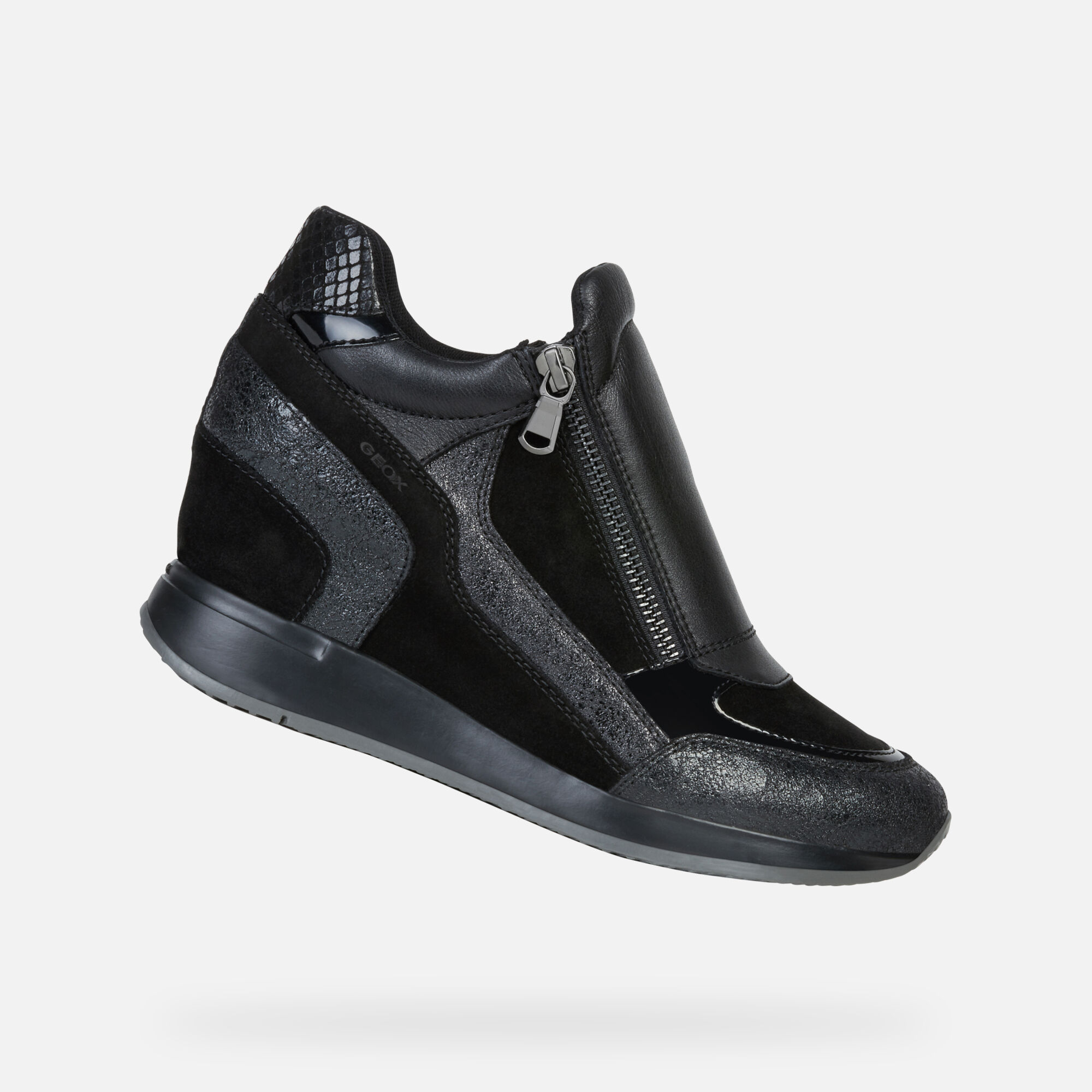 Geox NYDAME Femme Sneakers Noires | Collection d'Automne Hiver