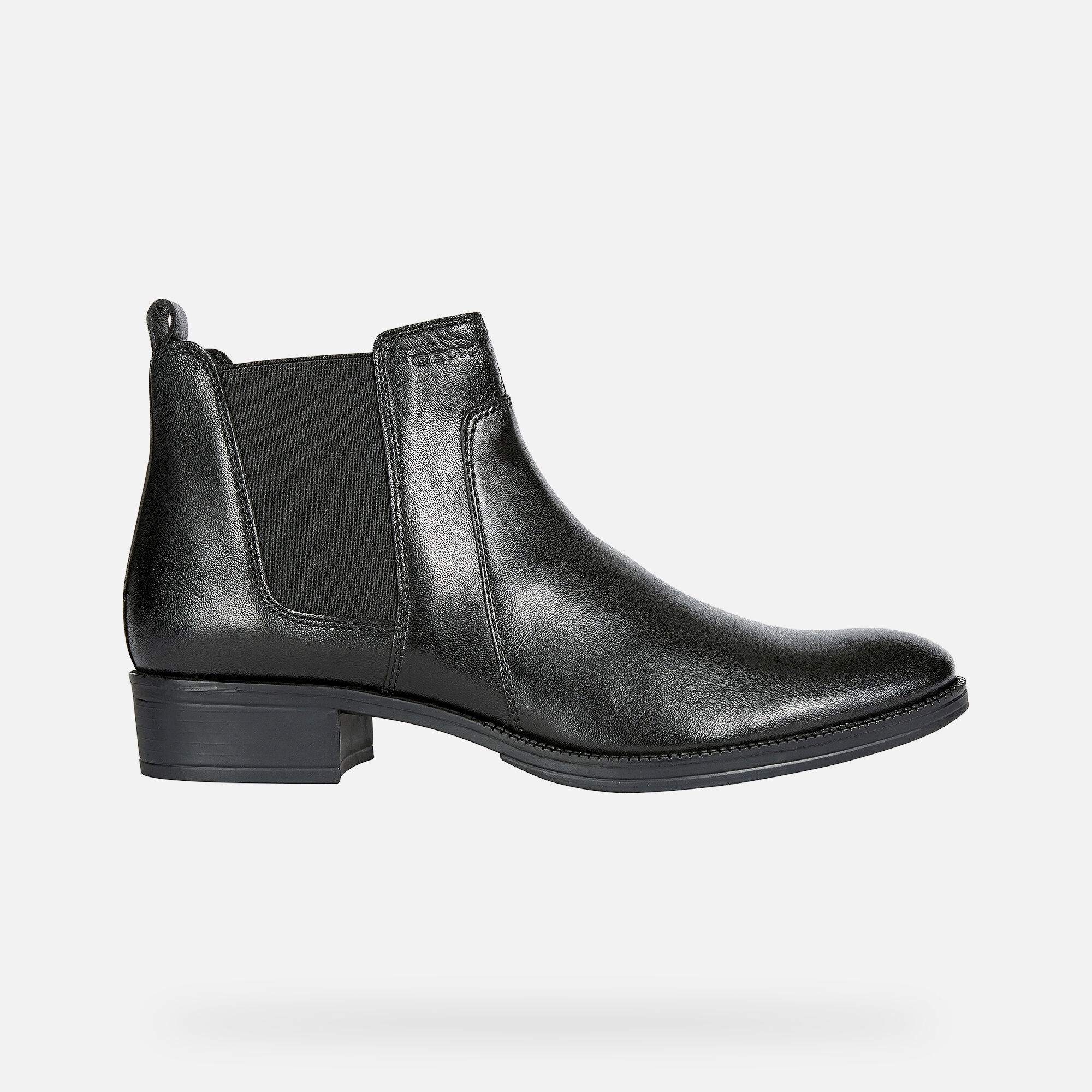 Geox LACEYIN Woman: Black Ankle Boots