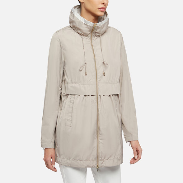 WOMAN ANORAKS GEOX GENZIANA WOMAN - 4