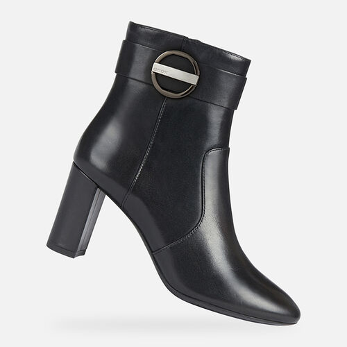 ANKLE BOOTS WOMAN GEOX PHEBY WOMAN - null