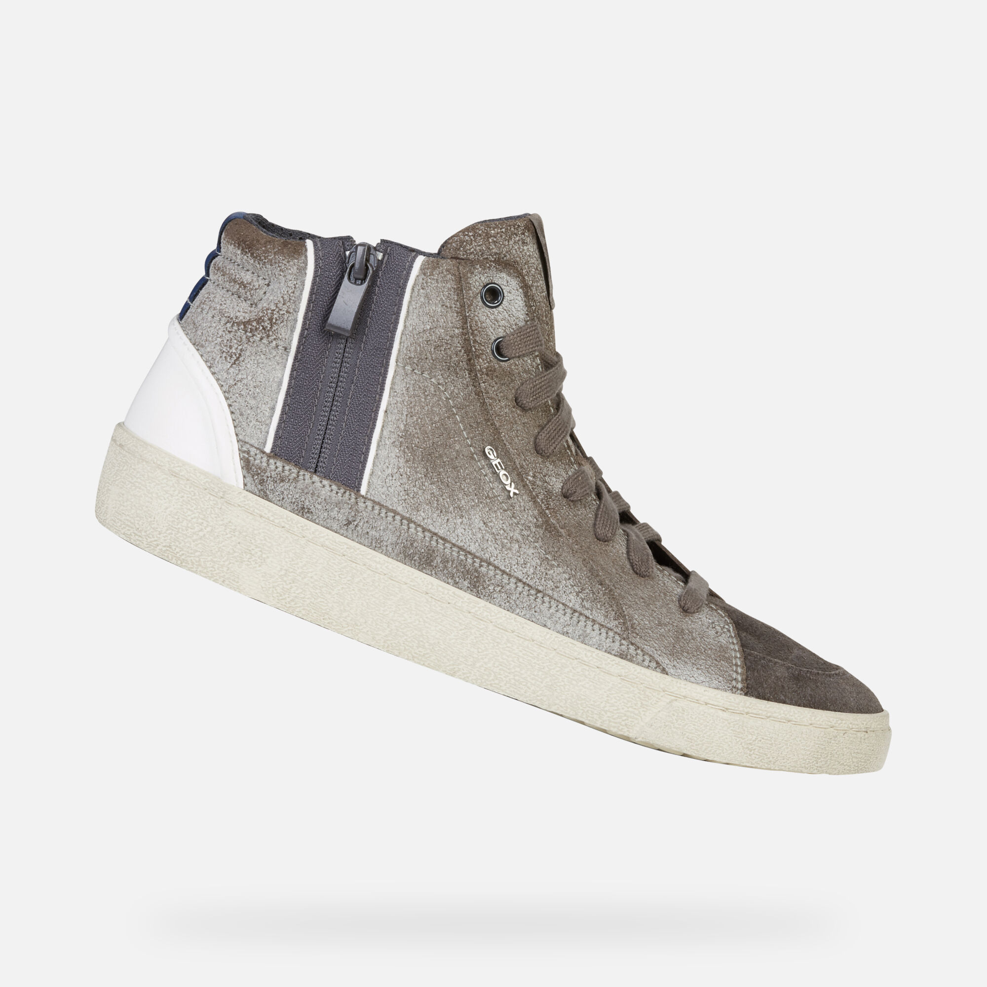 Geox WARLEY Uomo: Sneakers Alte Pietra | Geox ® Sito Ufficiale