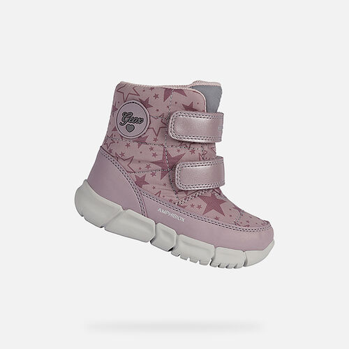 MID-CALF BOOTS BABY GEOX FLEXYPER ABX BABY GIRL - null