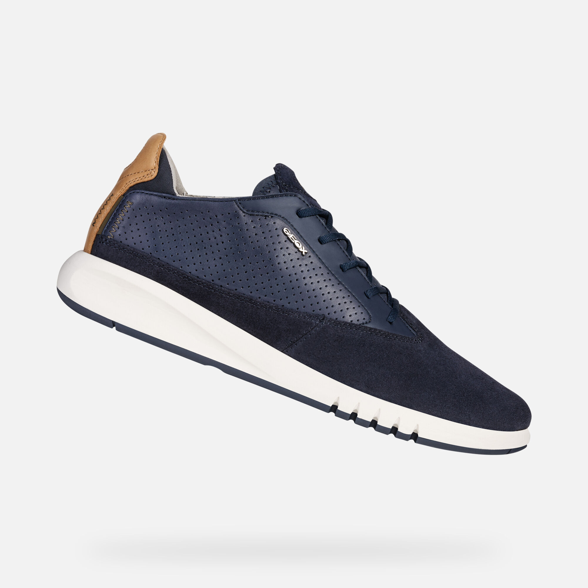aerantis aerantis von herren geox  Neue Geox Navy Sneakers Herren Verkauf P 184 #13