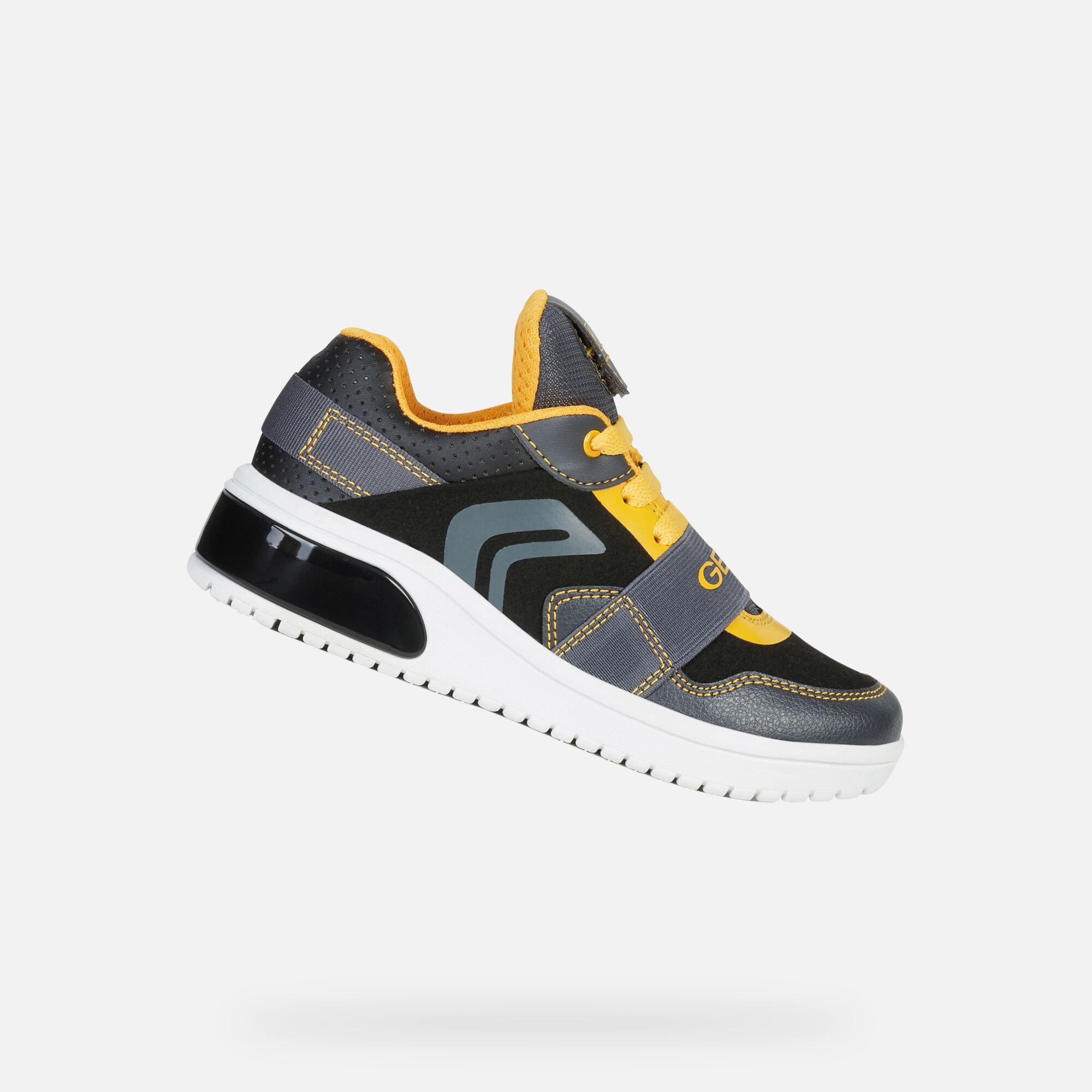 GEOX XLED Bimbo: Sneakers Basse Nere | GEOX FW1920 | Geox