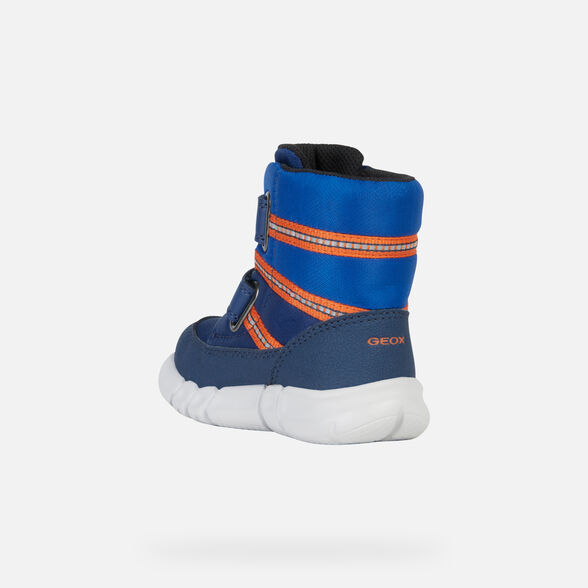 ANKLE BOOTS BABY GEOX FLEXYPER BABY BOY ABX - 5