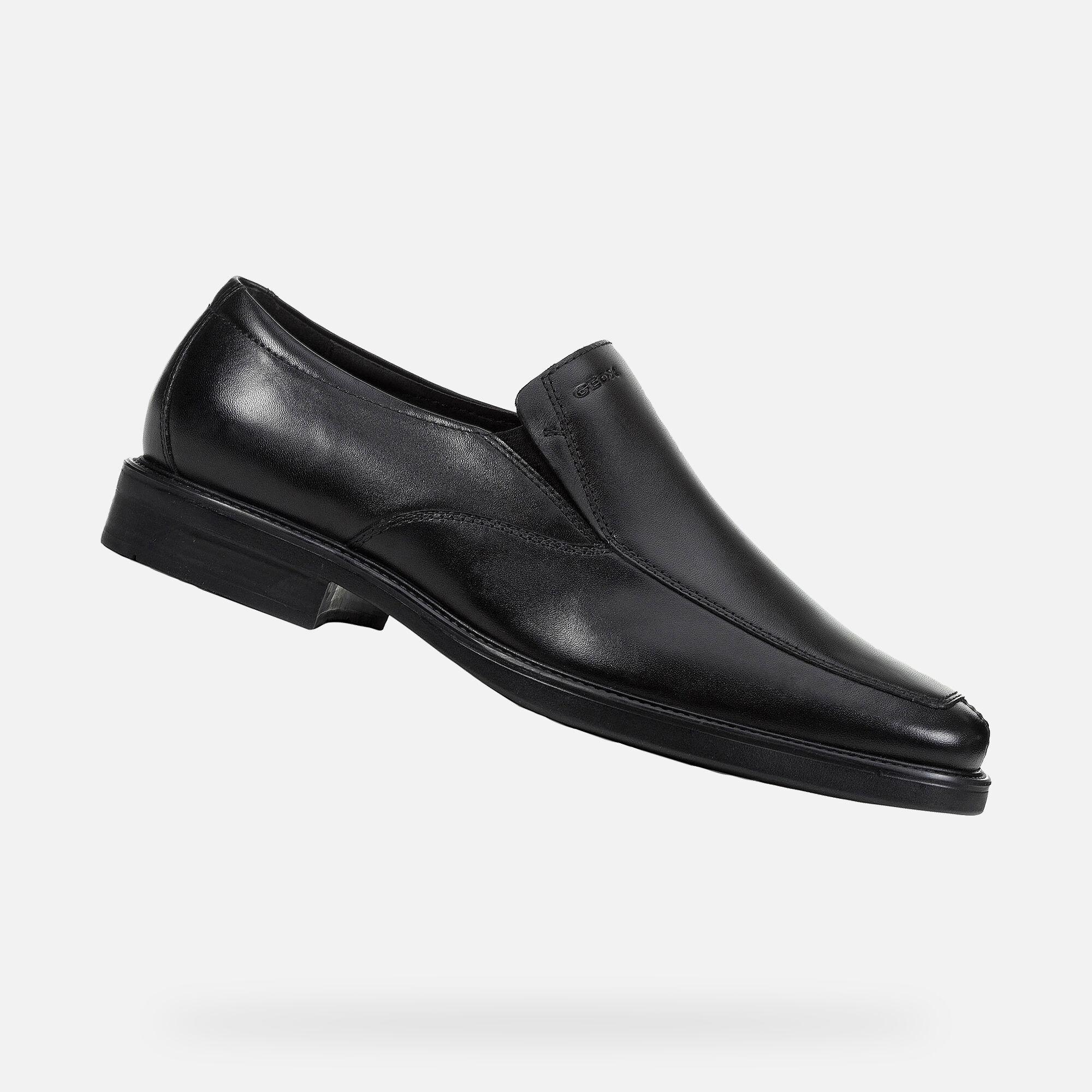 GEOX Brandolf Men's Slipper Black Shoes
