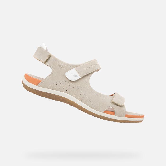 Casual Woman's Flat Or Elegant SandalsGeox OnPkX8w0
