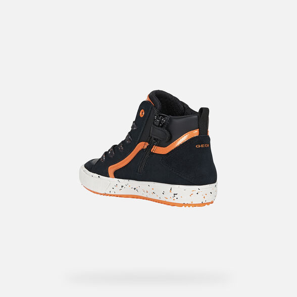 Geox J Alonisso Boy G Baskets Hautes gar/çon