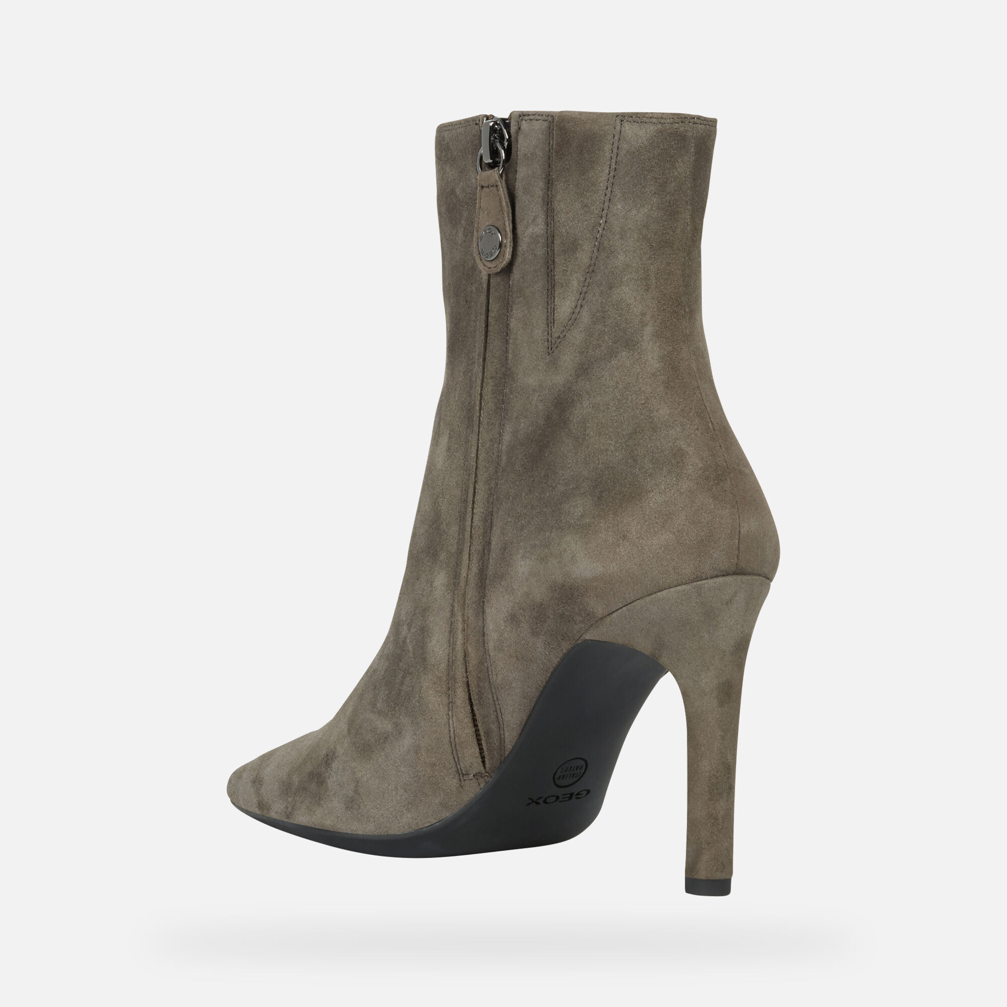 Geox FAVIOLA Frau: haselnussbraune ankle Boots   Geox ®