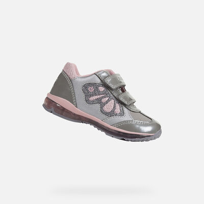 LIGHT-UP SHOES BABY GEOX TODO BABY GIRL