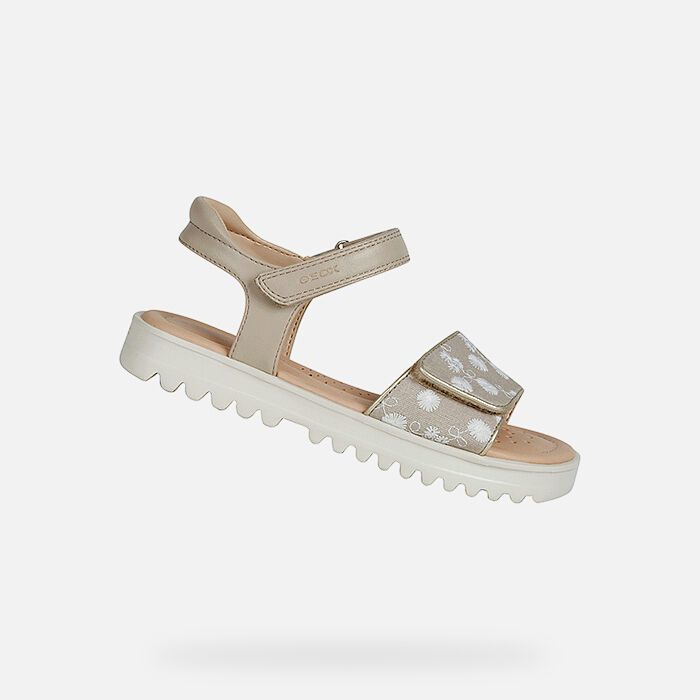 Casual Breathable Girl's Sandals | Geox