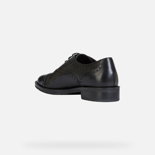 LACE UPS AND BROGUES WOMAN GEOX BETTANIE WOMAN - 4