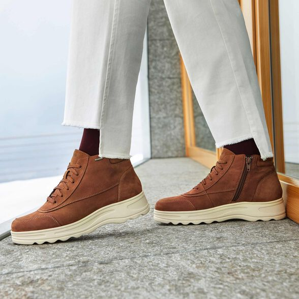 ANKLE BOOTS WOMAN GEOX HOSMOS ABX WOMAN - 8