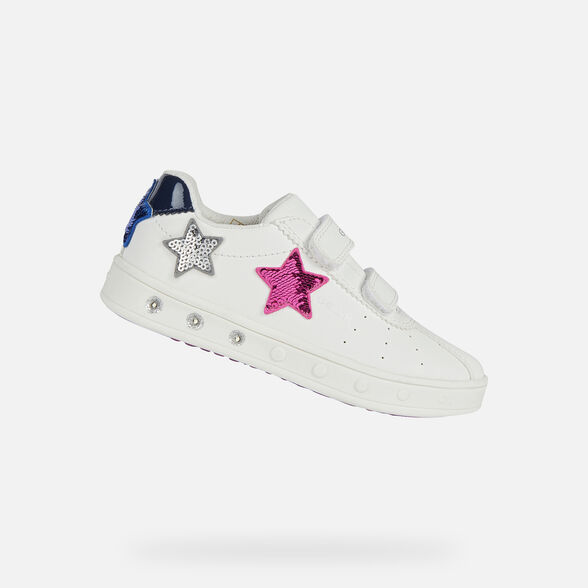 Geox Girls J Skylin Sneaker