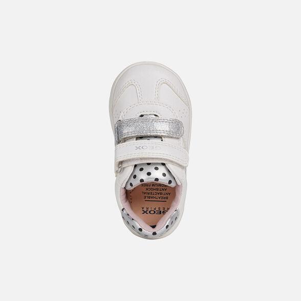Rizado semiconductor grabadora  Geox B Djrock Girl A Sneaker para Bebés Bebé Zapatos para bebé