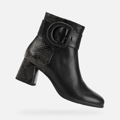 ANKLE BOOTS WOMAN GEOX CALINDA WOMAN