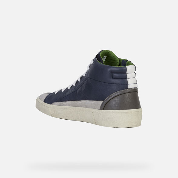 SNEAKERS MAN GEOX WARLEY MAN - 4