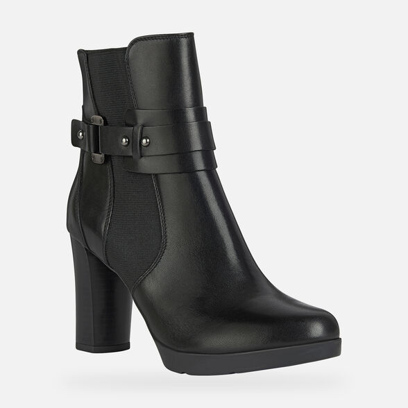 WOMAN ANKLE BOOTS GEOX ANYLLA HIGH WOMAN - 3