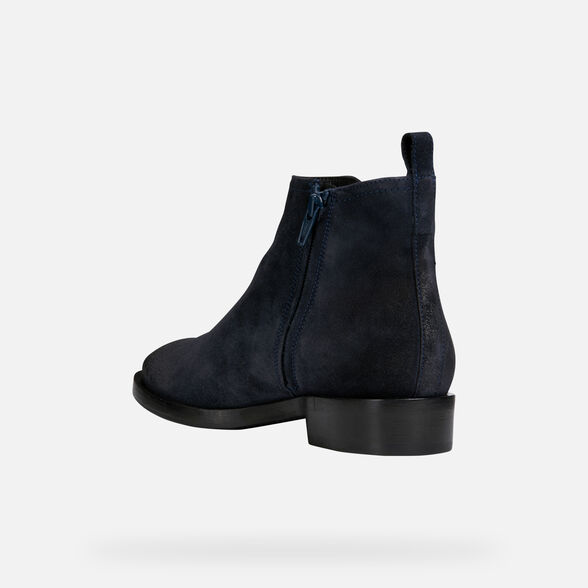 ANKLE BOOTS WOMAN GEOX BROGUE WOMAN - 5
