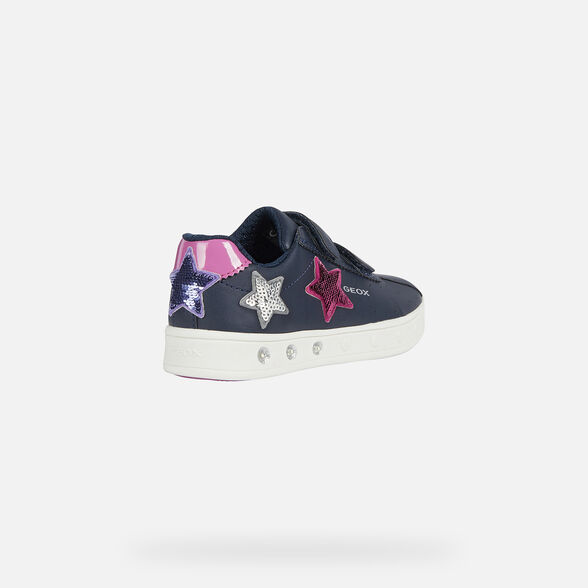 GIRL LIGHT-UP SHOES GEOX SKYLIN GIRL - 5