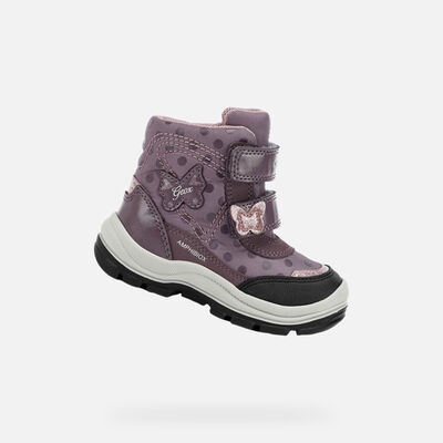 MID-CALF BOOTS BABY GEOX FLANFIL BABY GIRL ABX