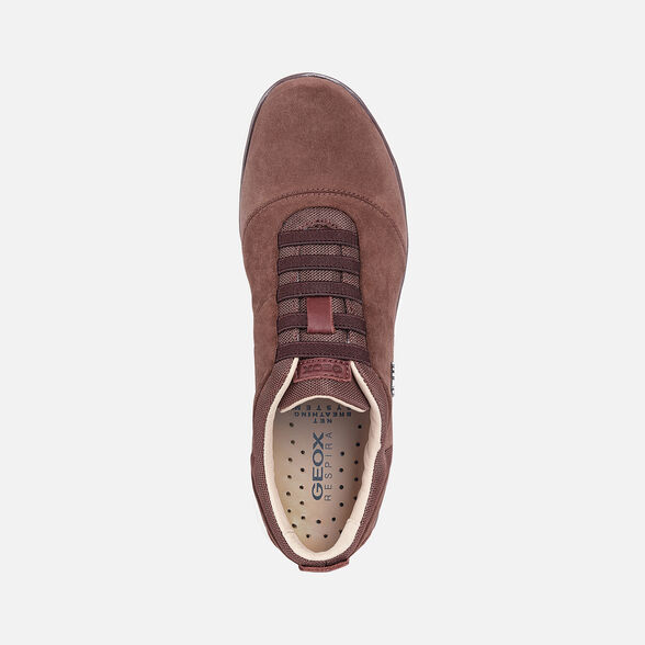 Préstamo de dinero Glosario Campanilla  Geox NEBULA Woman: Red Sneakers | Geox® FW20/21