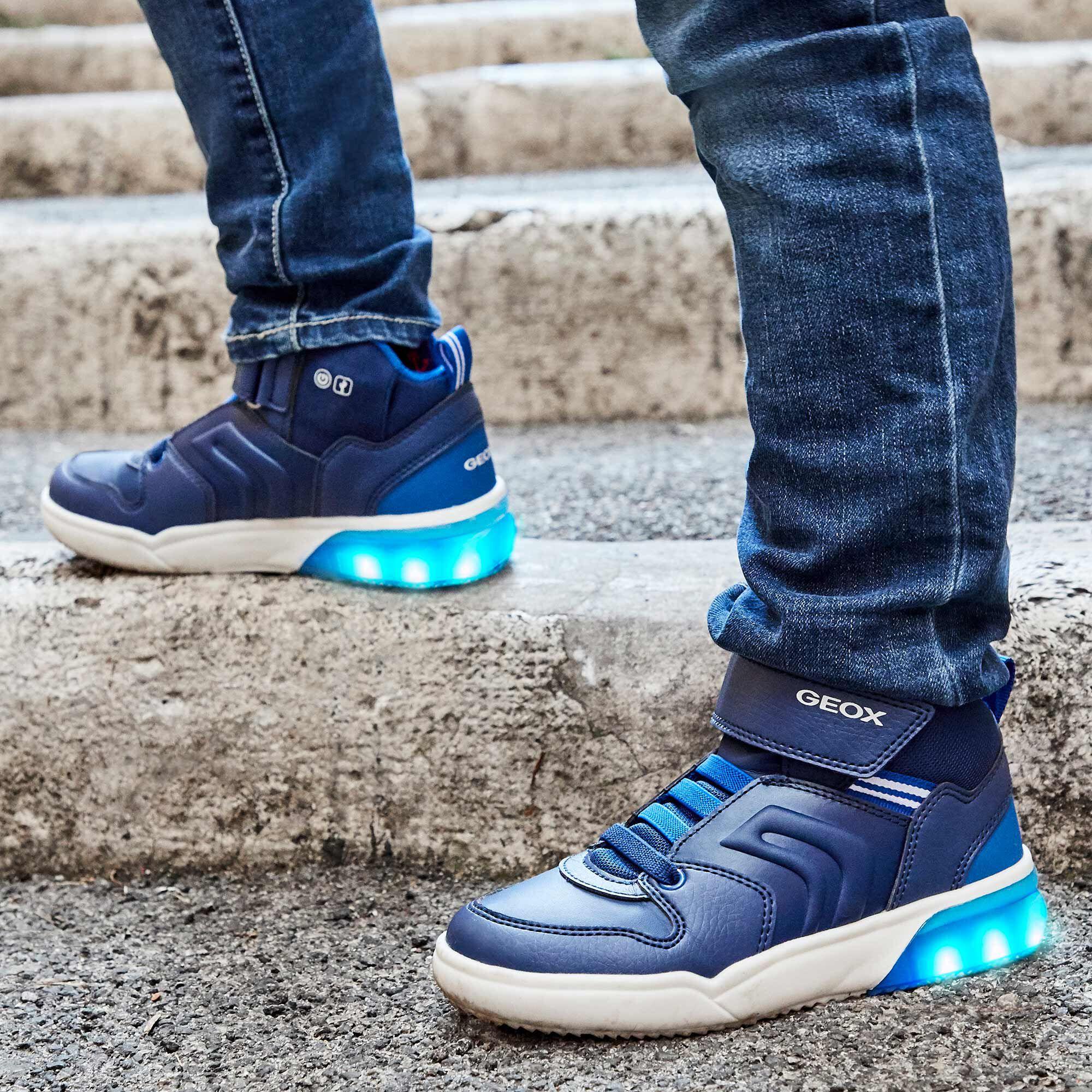 zapatos geox fiesta azul