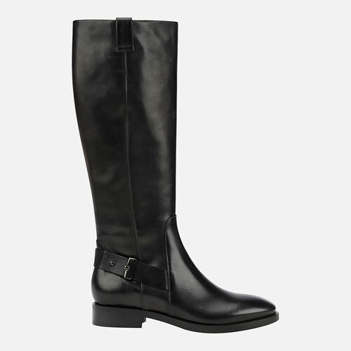 BOOTS WOMAN GEOX BROGUE WOMAN - null