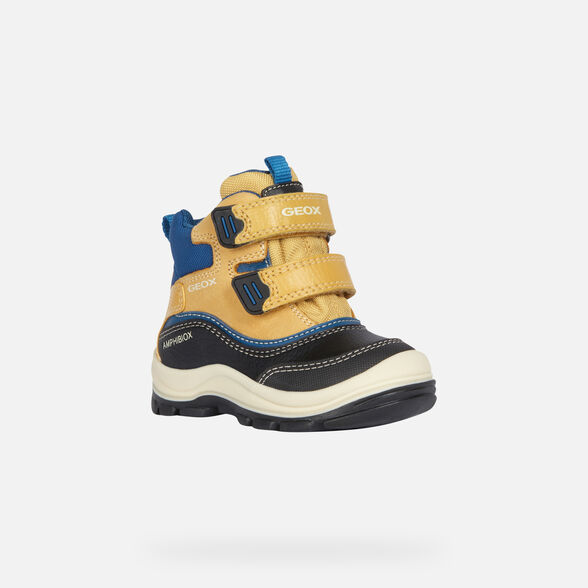 ANKLE BOOTS BABY GEOX FLANFIL BABY BOY ABX - 3