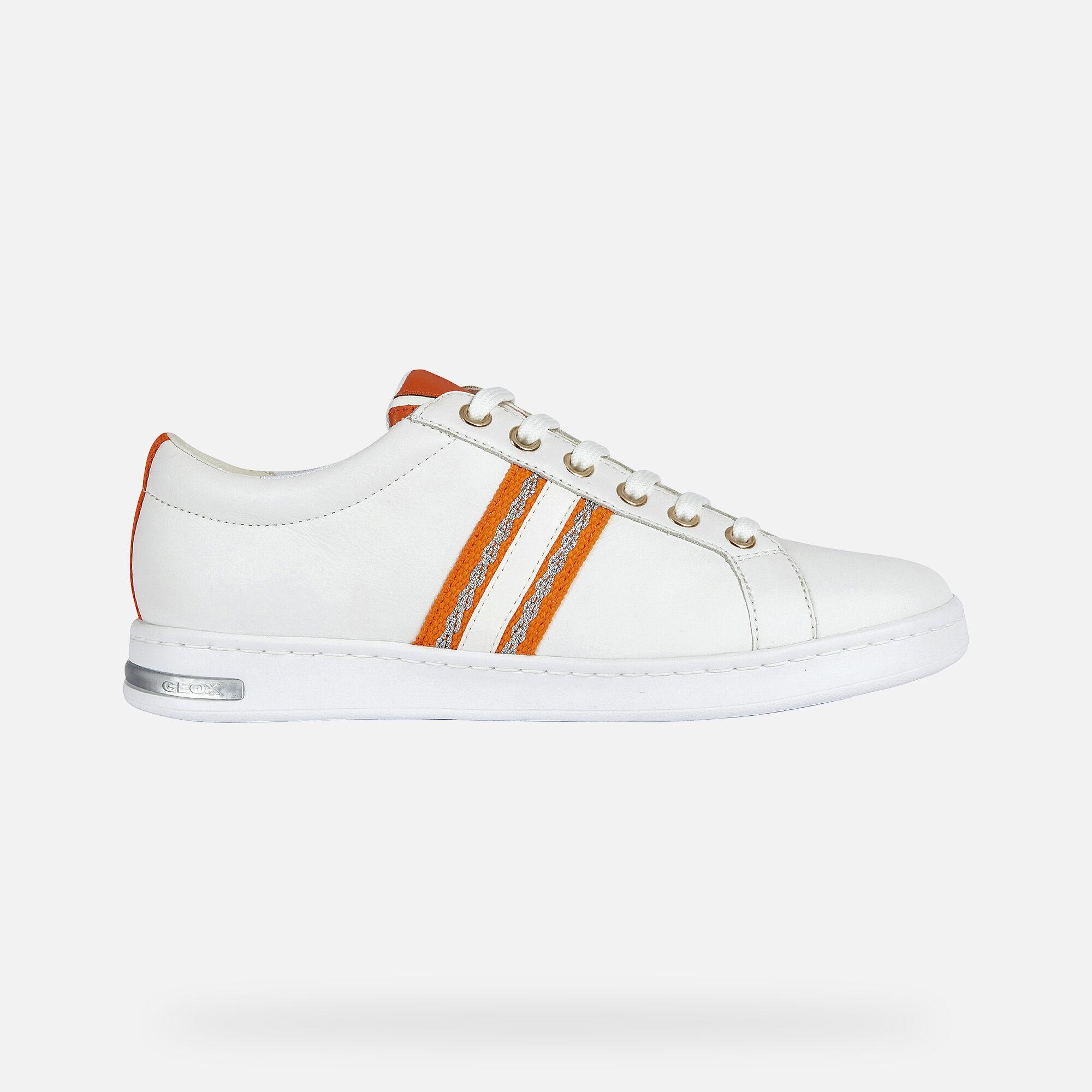 Geox JAYSEN Woman: White Sneakers