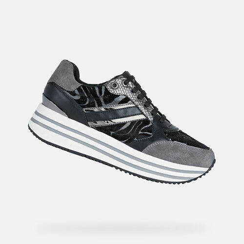 SNEAKERS DONNA GEOX KENCY DONNA - null