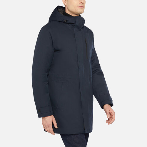 ANORAKS HOMME GEOX CLINTFORD HOMME - null