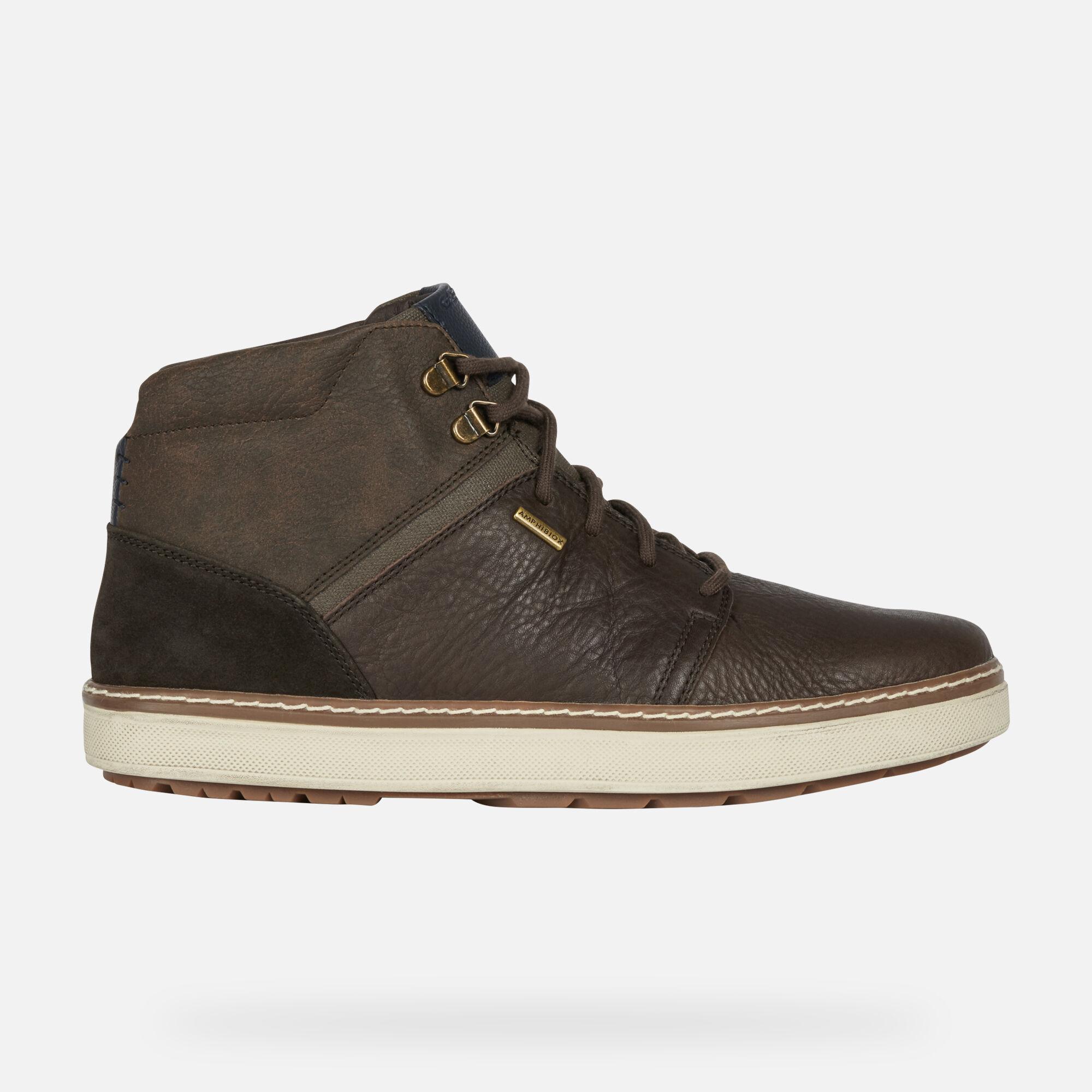 Geox MATTIAS B ABX Uomo: Sneakers Alte Caffè | Geox FW1920