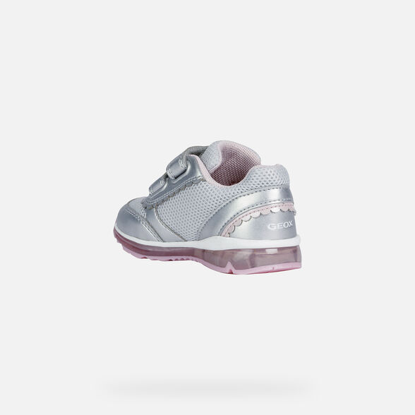 BABY LIGHT-UP SHOES GEOX TODO BABY GIRL - 4