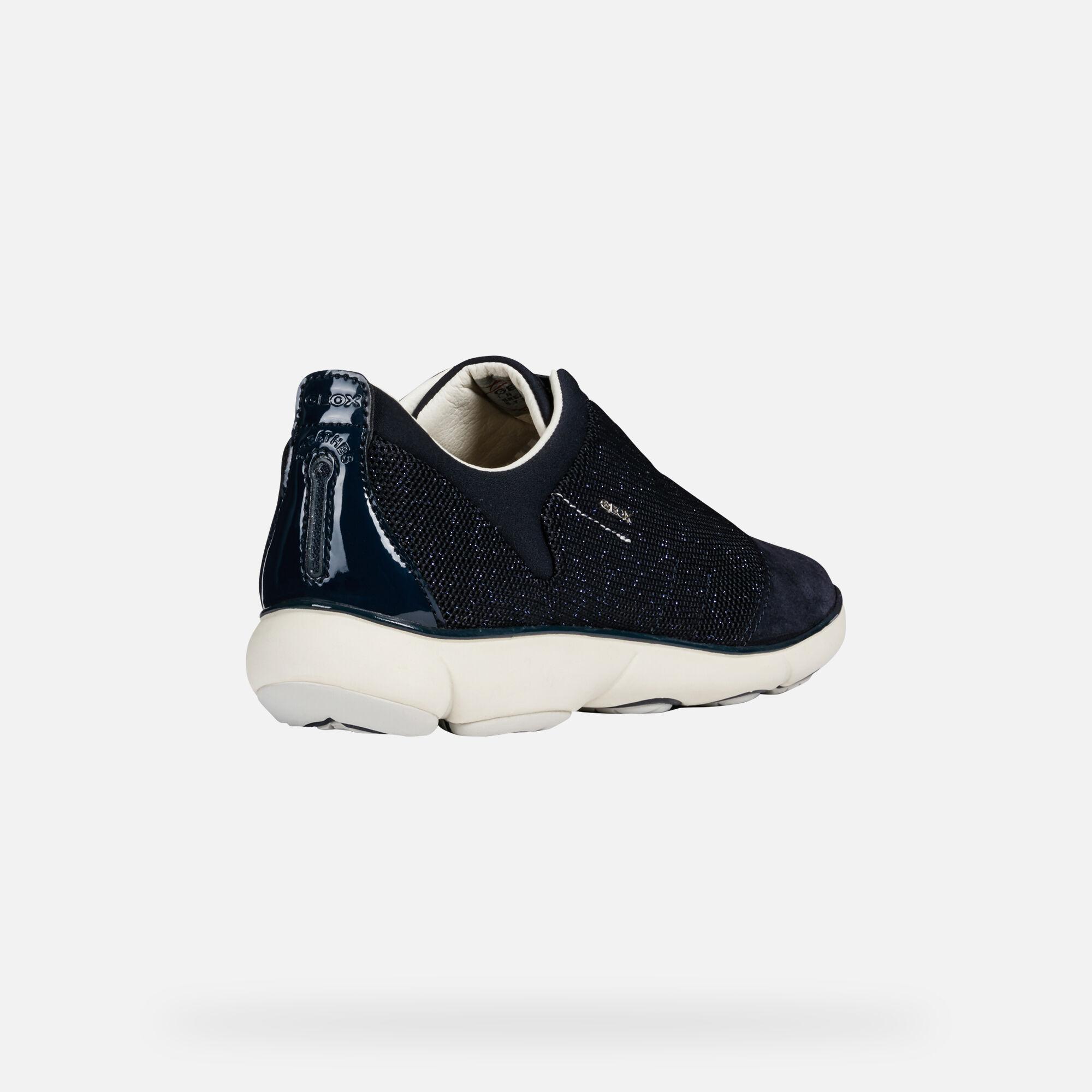 Geox NEBULA Woman: Navy blue Sneakers