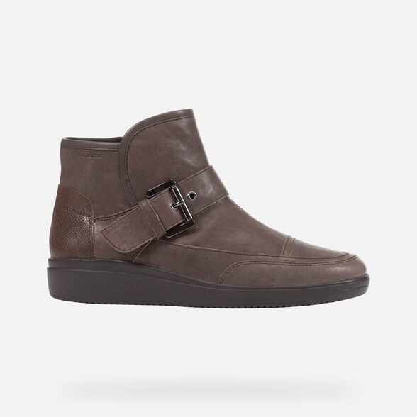 ANKLE BOOTS WOMAN GEOX TAHINA WOMAN - 2