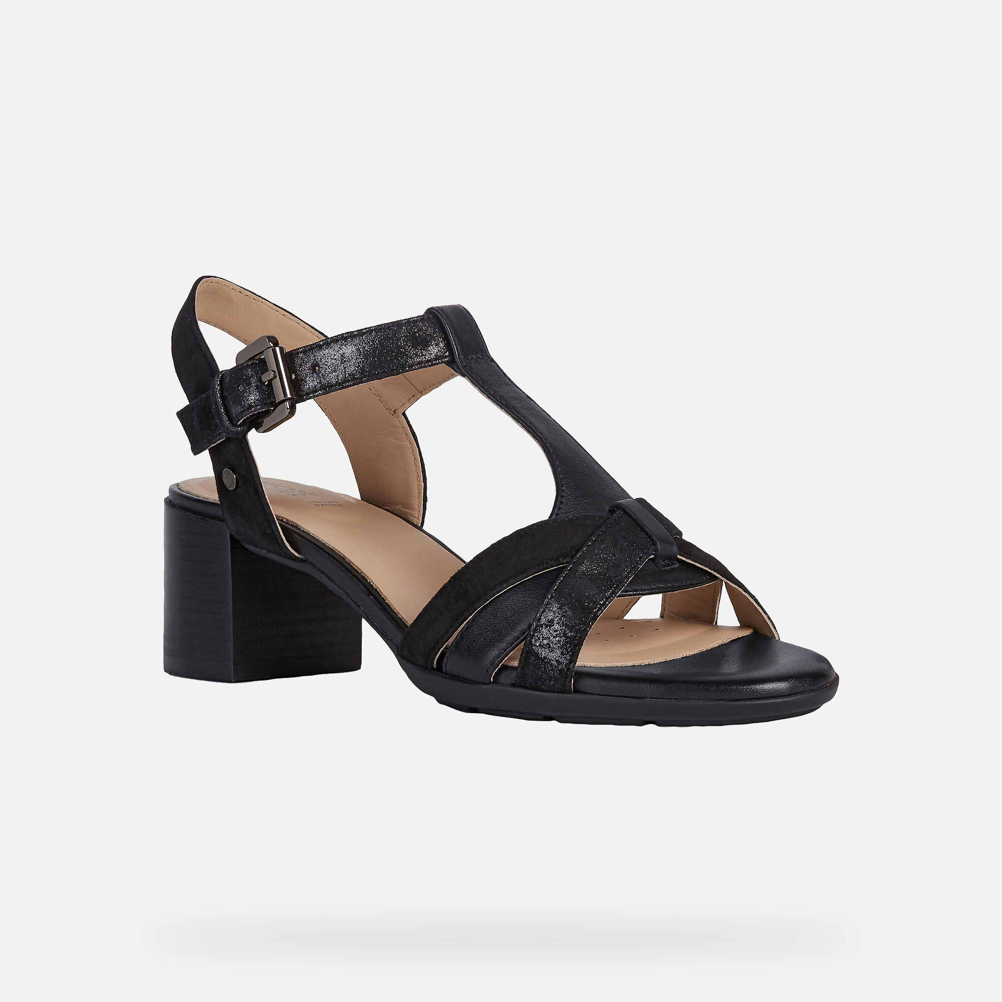 Geox MARYKARMEN Woman: Black Sandals
